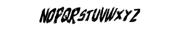 Cyrus the Virus Italic Font UPPERCASE