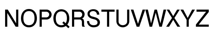 Cyrvetica Font UPPERCASE