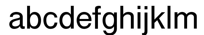 Cyrvetica Font LOWERCASE