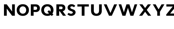 Cyntho Black Font UPPERCASE