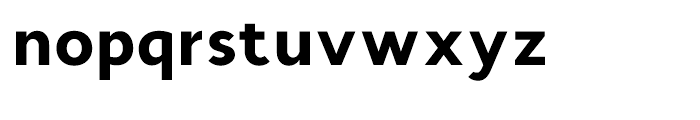 Cyntho Black Font LOWERCASE