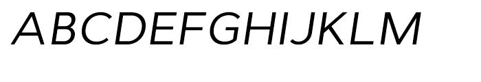 Cyntho Italic Font UPPERCASE