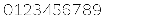 Cyntho Slab Extra Light Font OTHER CHARS