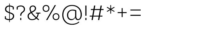 Cyntho Slab Light Font OTHER CHARS