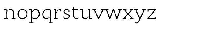 Cyntho Slab Light Font LOWERCASE