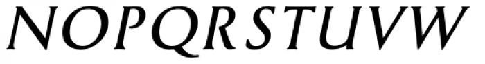Cyan Bold Italic Font UPPERCASE