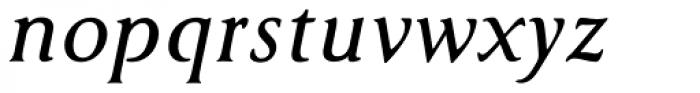 Cyan Bold Italic Font LOWERCASE
