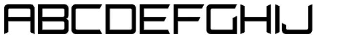 Cyberglass JNL Font UPPERCASE