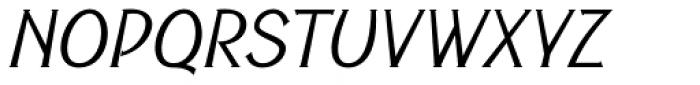 Cyceon Pro Italic Font UPPERCASE
