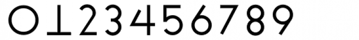 Cycladic Regular Font OTHER CHARS