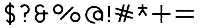 Cycladic Rough Font OTHER CHARS