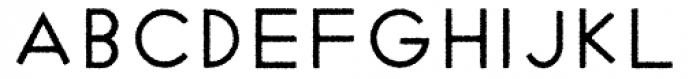 Cycladic Rough Font LOWERCASE
