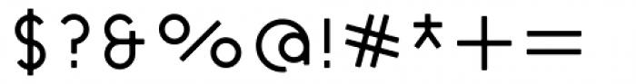 Cycladic Rounded Font OTHER CHARS
