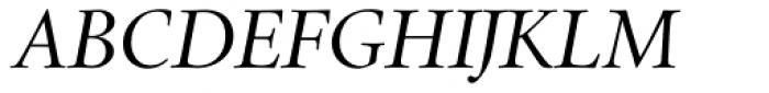 Cycles Eighteen Italic LF Font UPPERCASE