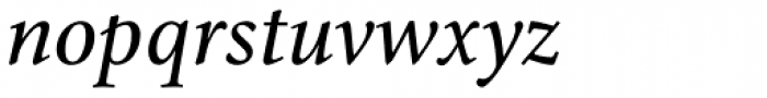 Cycles Seven Italic LF Font LOWERCASE