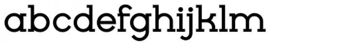 Cyclic Bold Font LOWERCASE
