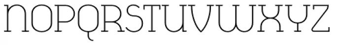 Cyclic Light Font UPPERCASE