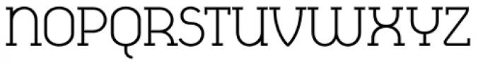 Cyclic Regular Font UPPERCASE