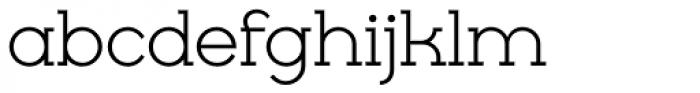 Cyclic Regular Font LOWERCASE