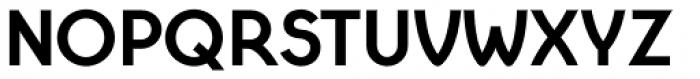 Cyclic Sans Heavy Font UPPERCASE