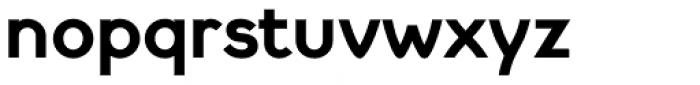 Cyclic Sans Heavy Font LOWERCASE