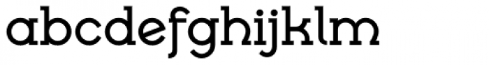 Cyclic Uncial Bold Font LOWERCASE