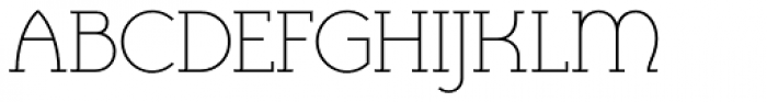 Cyclic Uncial Light Font UPPERCASE
