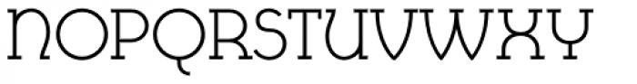 Cyclic Uncial Regular Font UPPERCASE