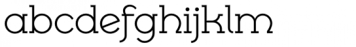 Cyclic Uncial Regular Font LOWERCASE