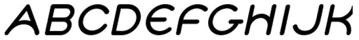 Cyclo Bold Italic Font UPPERCASE