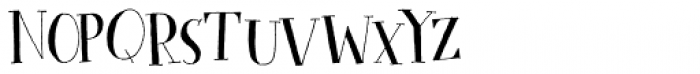 Cykelsmed Font LOWERCASE