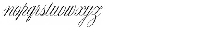 Cynthia June JF Font LOWERCASE