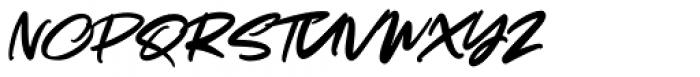 Cynthias Regular Font UPPERCASE