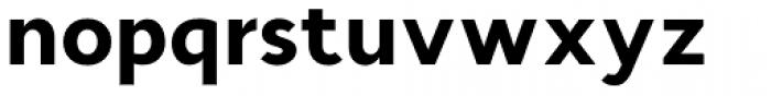 Cyntho Pro Black Font LOWERCASE