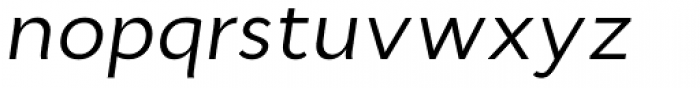 Cyntho Pro Italic Font LOWERCASE