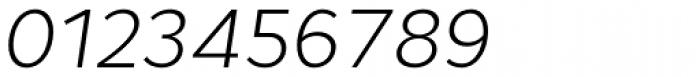 Cyntho Pro Light Italic Font OTHER CHARS