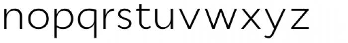 Cyntho Pro Light Font LOWERCASE
