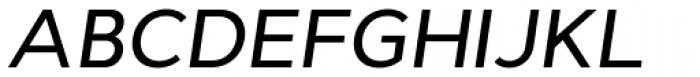Cyntho Pro Medium Italic Font UPPERCASE