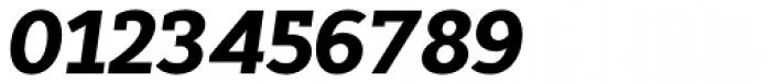 Cyntho Slab Pro Black Italic Font OTHER CHARS