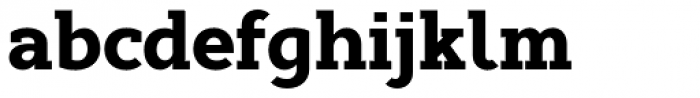 Cyntho Slab Pro Black Font LOWERCASE