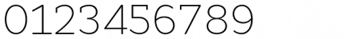 Cyntho Slab Pro ExtraLight Font OTHER CHARS