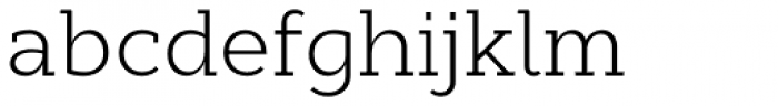 Cyntho Slab Pro Light Font LOWERCASE