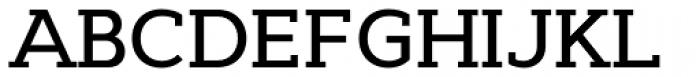 Cyntho Slab Pro Medium Font UPPERCASE