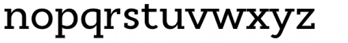 Cyntho Slab Pro Medium Font LOWERCASE