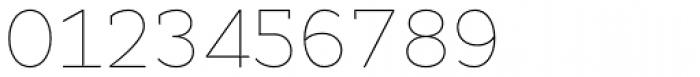 Cyntho Slab Pro Thin Font OTHER CHARS