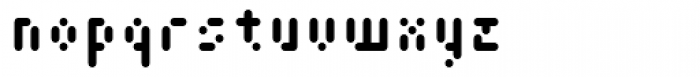 Cypher 3 Font LOWERCASE