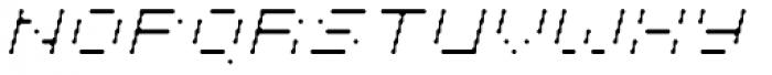 Cypher 5 Light Italic Font UPPERCASE
