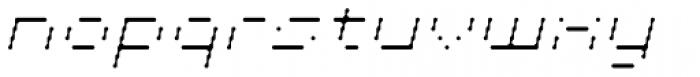 Cypher 5 Light Italic Font LOWERCASE