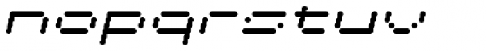 Cypher 7 Italic Font LOWERCASE