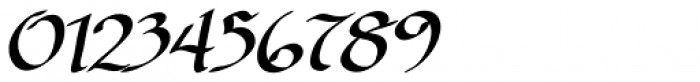 Cyrano BB Italic Font OTHER CHARS